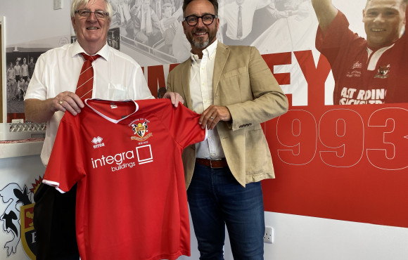 Modular buildings firm backs Bridlington Town after completing new clubhouse image