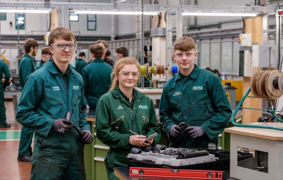 Historic charitable trust supports young engineering trainees image