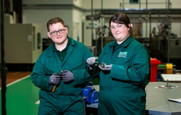 UTC students take up apprenticeships with leading employers image