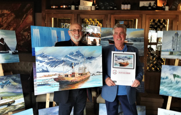 Viola campaign to benefit from calendar of famous ships image