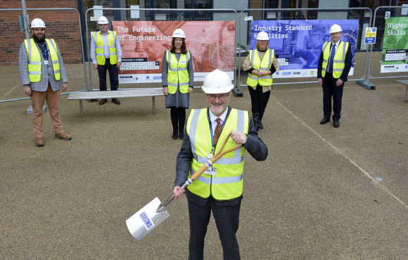 College marks start of building work on new Institute of Technology image