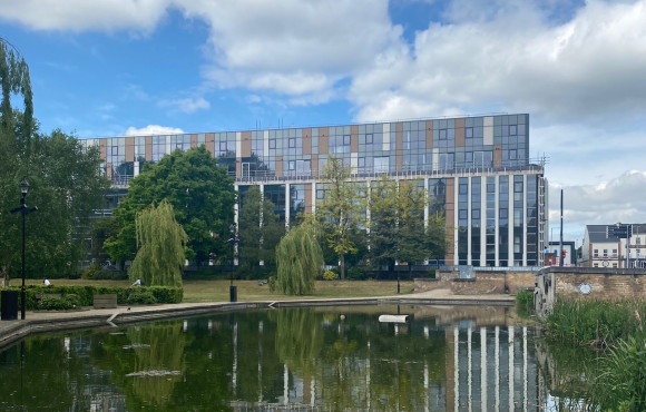 Construction restarts on city regeneration project image