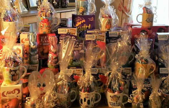 Showbiz stars hatch plan to send Easter egg treat to food bank families image