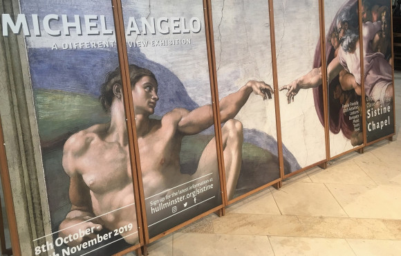 Tickets now available for Minster Michelangelo spectacular image