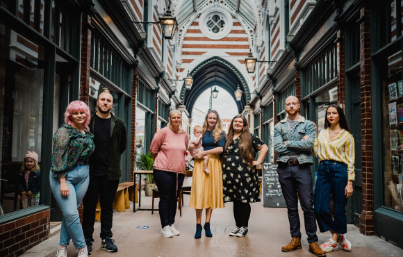Historic arcade hits capacity with arrival of new businesses image