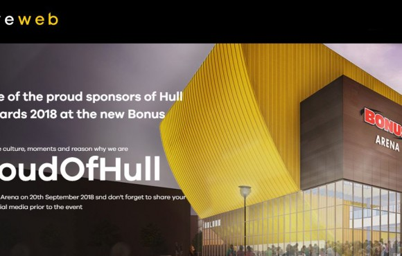 Eyeweb launches #ProudOfHull campaign image