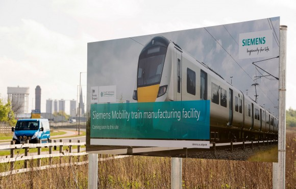 Siemens Mobility given green light for Goole rail manufacturing site image