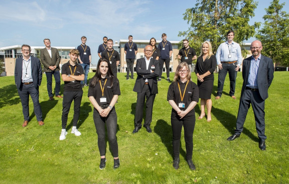 Siemens Mobility's first Goole apprentices start college image