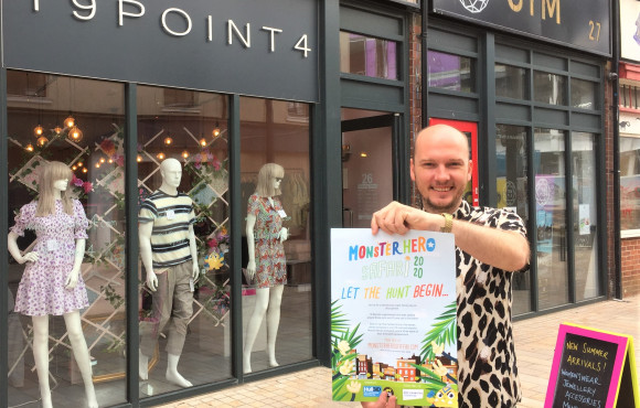 Monster Hero trail shares superpower stories with families in Hull city centre image