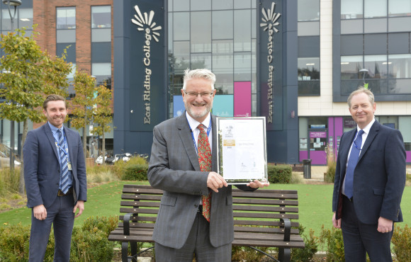 College first in the North to gain gold status in forces-friendly scheme image
