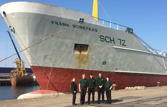 HETA young learners embark on careers at sea with international fishing firm image