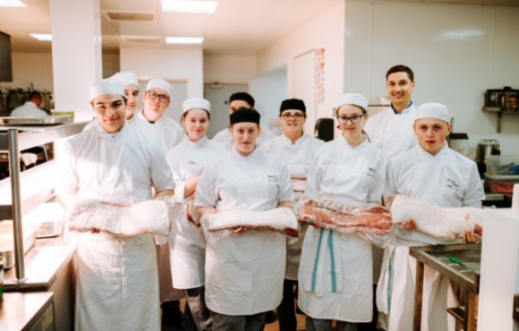 Hull College students team up with Cranswick to deliver first-class festival food image