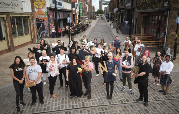New businesses, jobs and homes as Fruit Market delivers regeneration vision image