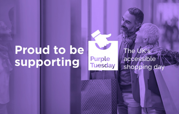 Shopping centre to turn purple for accessibility awareness day image