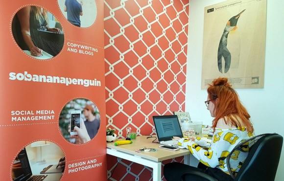 Sobananapenguin celebrates enterprise award image