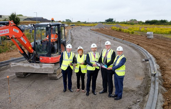 Work begins to unlock new phase of growing Melton West business park image