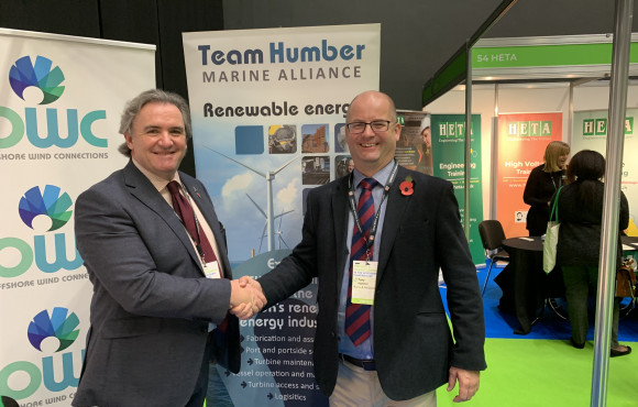 Global giant becomes first Team Humber Marine Alliance partner image