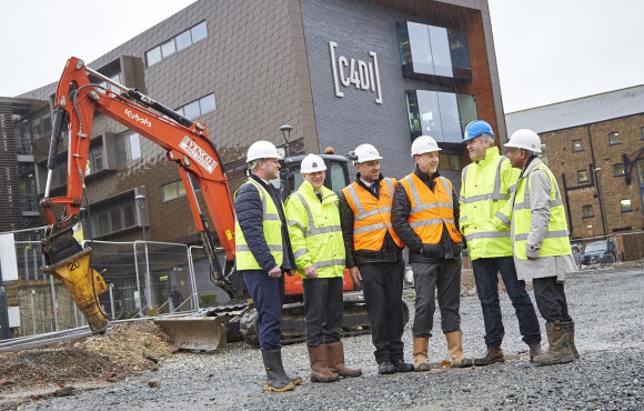 Next step for tech success as work starts on C4DI sister building image