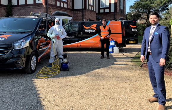 Cleaning firm launches specialist coronavirus services after lockdown hits business image