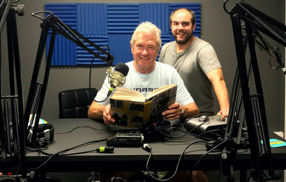 Entrepreneur steps up support for charity with audio version of life story image