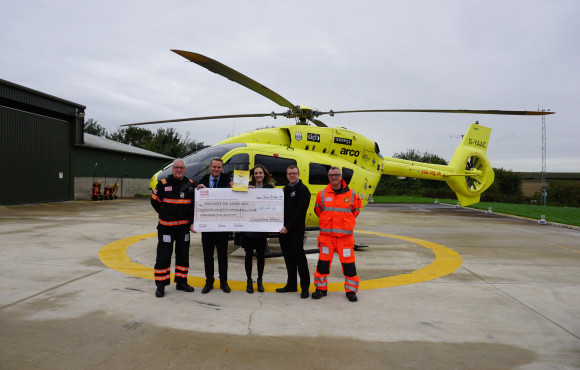 Bakery supports air ambulance's lifesaving missions image