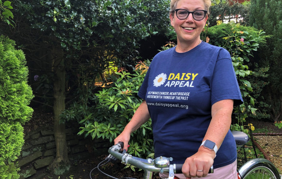 Daisy Appeal urges supporters to take to the roads for virtual events image