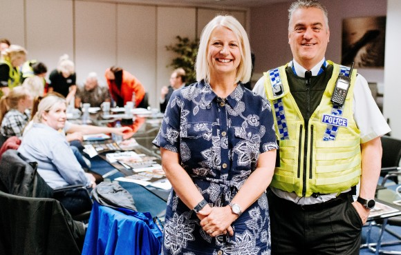 Police urge businesses to help make a difference in fight against crime image