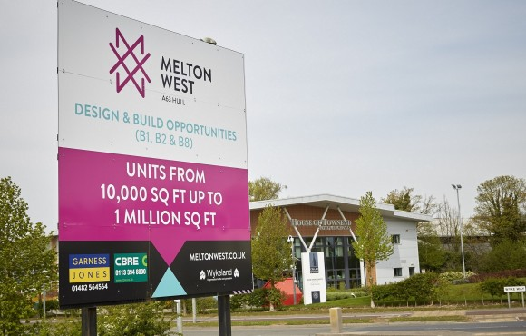 Expanded Melton West business park launched image
