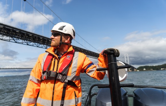 Spencer Group completes major Forth Road Bridge repairs image