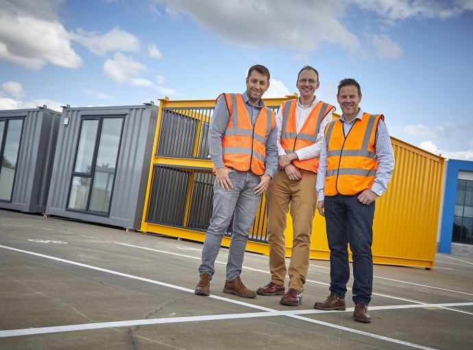 Integra delivers modular apartments for pioneering housing project feature image