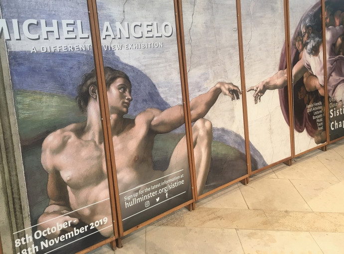 Tickets now available for Minster Michelangelo spectacular feature image