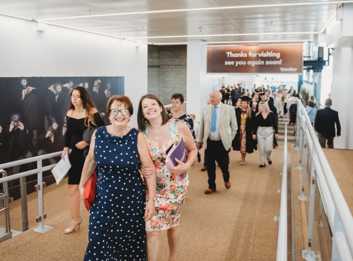 New arena gives footfall boost to Princes Quay feature image