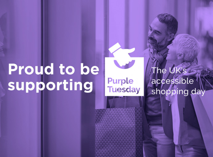 Shopping centre to turn purple for accessibility awareness day feature image