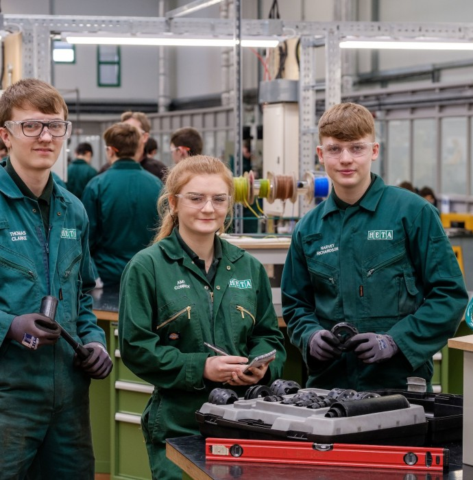 Historic charitable trust supports young engineering trainees feature image
