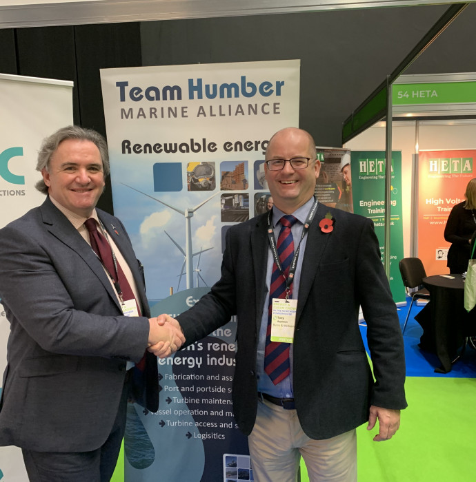 Global giant becomes first Team Humber Marine Alliance partner feature image